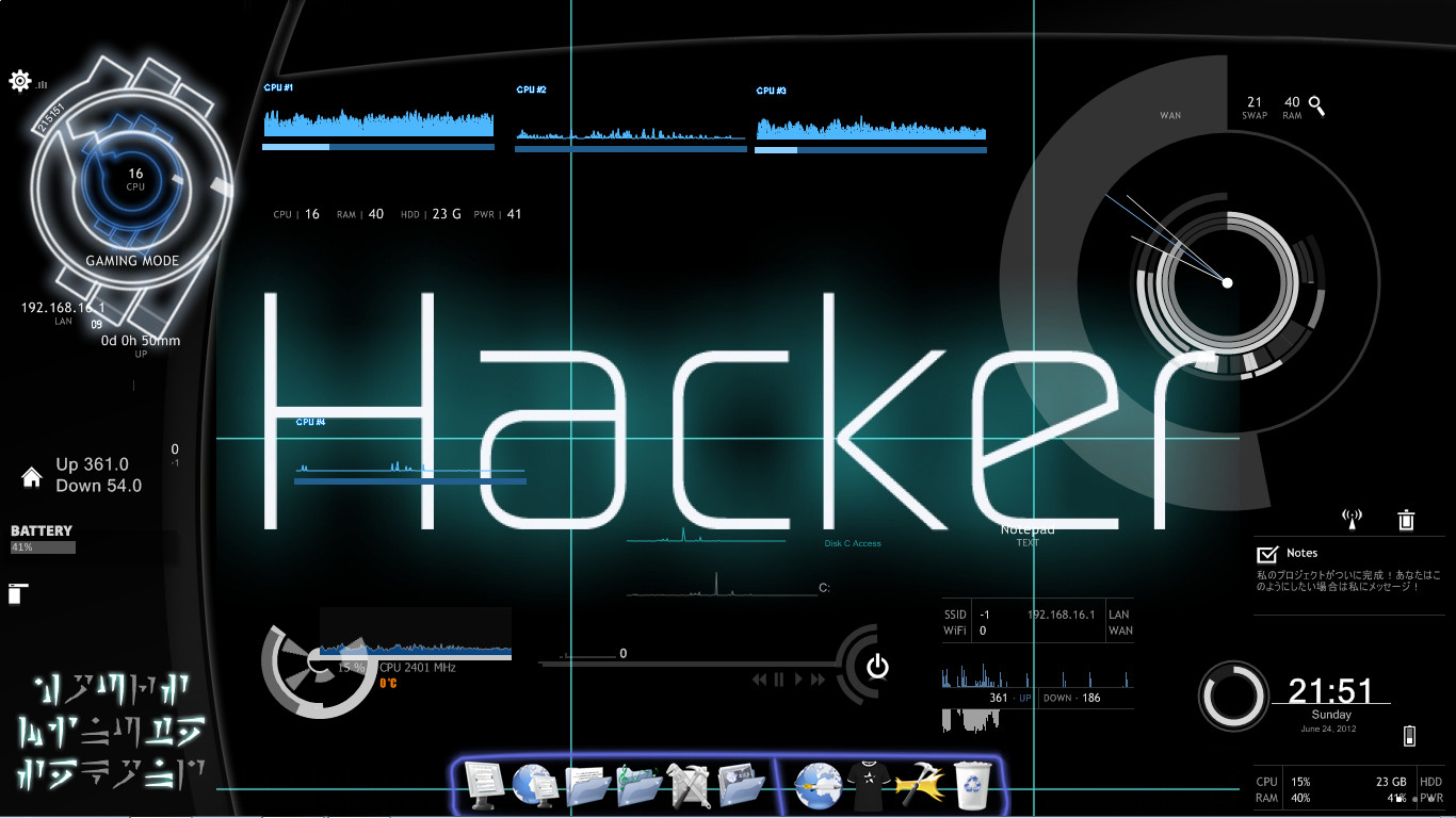 The Best Hacking Theme Hacker