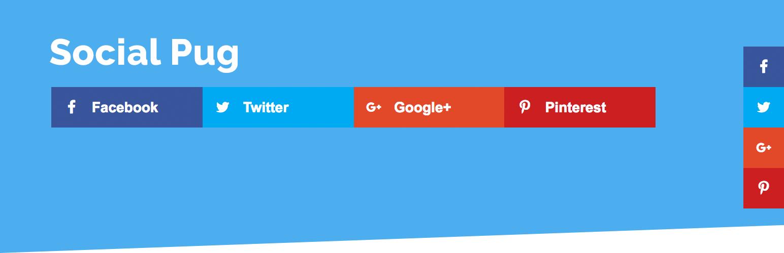 Social Share Buttons – Social Pug - 20 Best Social Sharing Plugins For WordPress