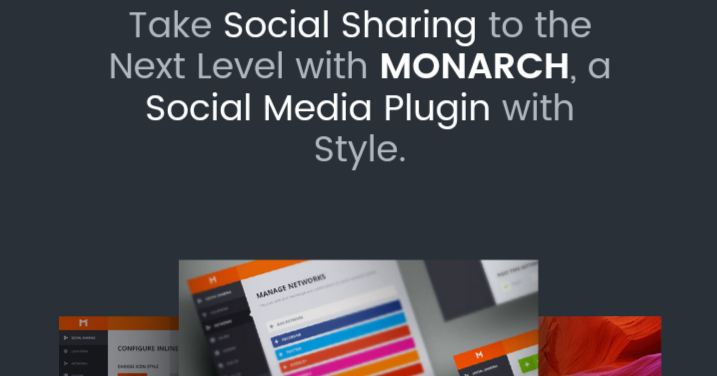 monarch - 20 Best Social Sharing Plugins For WordPress
