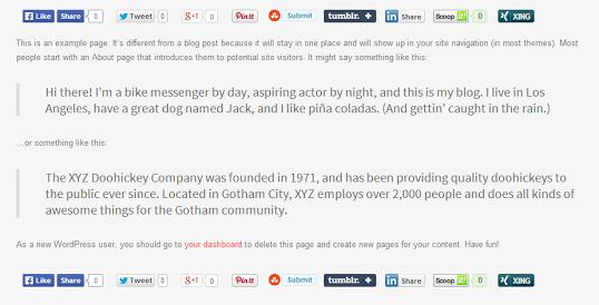 social share boost - 20 Best Social Sharing Plugins For WordPress