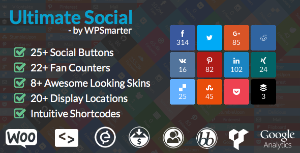 ultimate social deux- 20 Best Social Sharing Plugins For WordPress